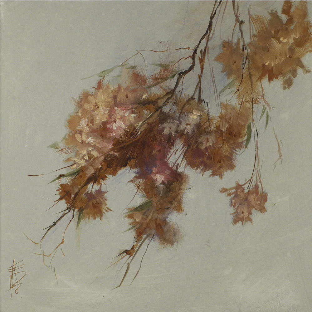Rusty Spring Blossoms ~ 455 x 455mm