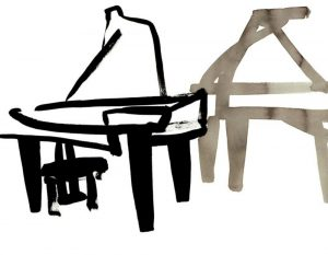Piano ~ 900 x 650mm