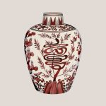 Chinese Vase 1 (Red) (of 8)