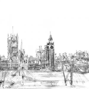 London Eye Drawing II (of 9)