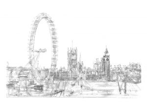 London Eye Panorama (of 9)
