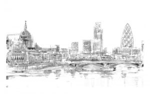 London Skyline Panorama (of 9)