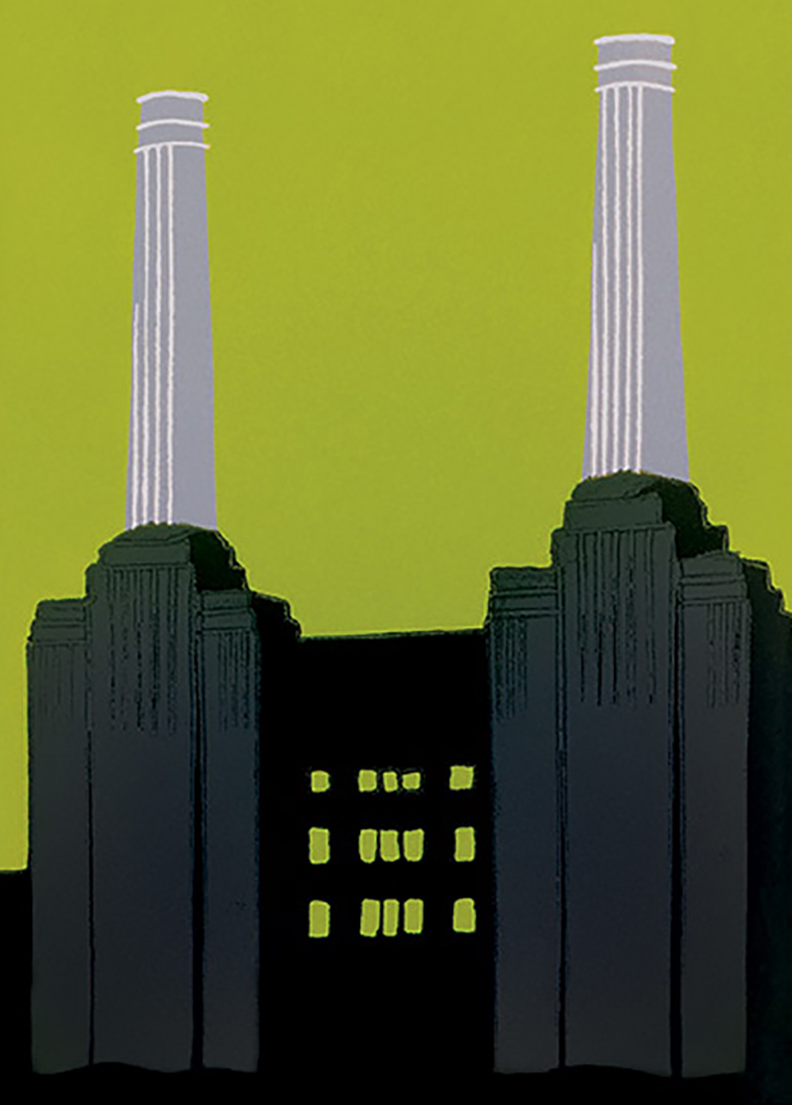 Battersea ~ 448 x 618mm
