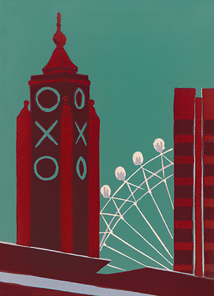 Oxo building ~ 448 x 618mm