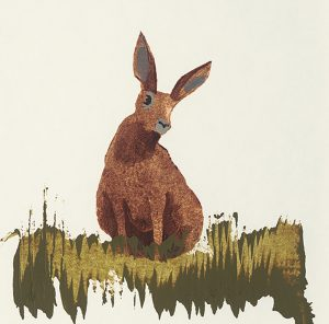 Hare ~ 490 x 480mm