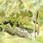 Watercolour Landscape 2 (of 9)