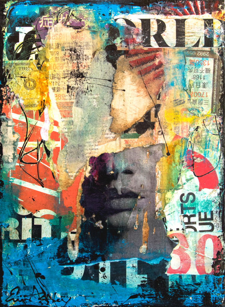 Collage Head ~ 560 x 760mm