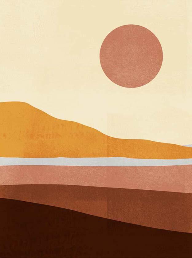 Sunseeker Landscape I