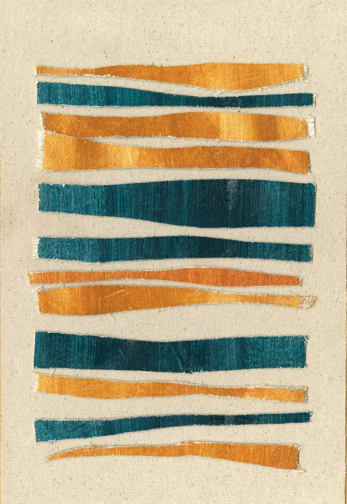 Teal and Ochre Series I