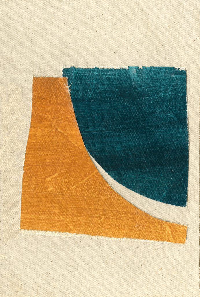 Teal and Ochre Series II
